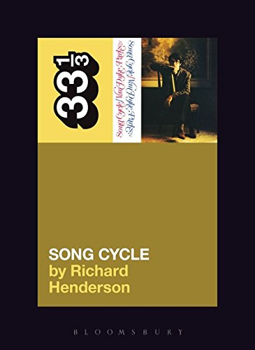 Van Dyke Parks' Song Cycle (33 1/3, Band 74)
