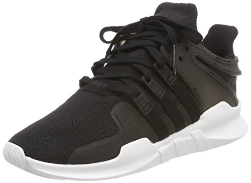 Adidas EQT Support ADV J - Basket Mode - Mixte adult - Noir (Core Black/footwear White) - 36 EU
