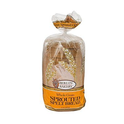 Berlin Natural Bakery Sprouted Spelt Bread 19 Ounce (Pack of 6)