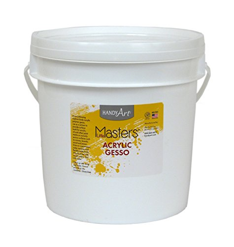 Handy Art Little Masters Economy Acrylic Gallon, White Gesso