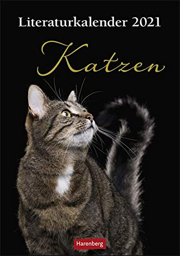 Literaturkalender Katzen Kalender 2021