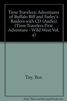 Paperback Buffalo Biff: The Time Traveler's First Adventure (Backyard Adventures) [Large Print] Book
