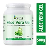 KAZIMA Aloe Vera Gel Raw - 100% Pure Natural Gel - Ideal