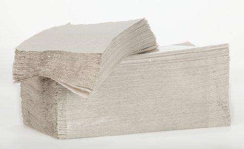 Papierhandtücher, Zick-Zack-Faltung 25x23cm, 1-lagig, 100% Recycling-Material, Karton = 5.000 St.