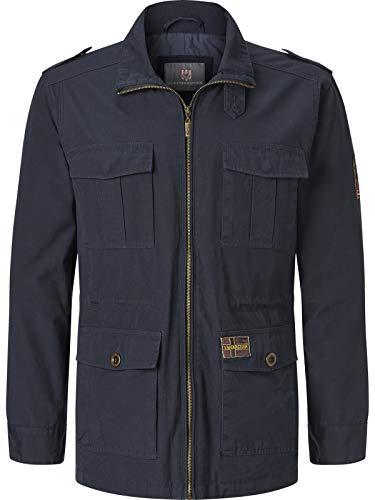 JAN VANDERSTORM Męska kurtka Fieldjacket BROR na zewnątrz 100% bawełna kurtka męska