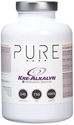 Bodybuilding Warehouse Pure Kre-Alkalyn® Creatine Monohydrate Capsules (240 Caps)