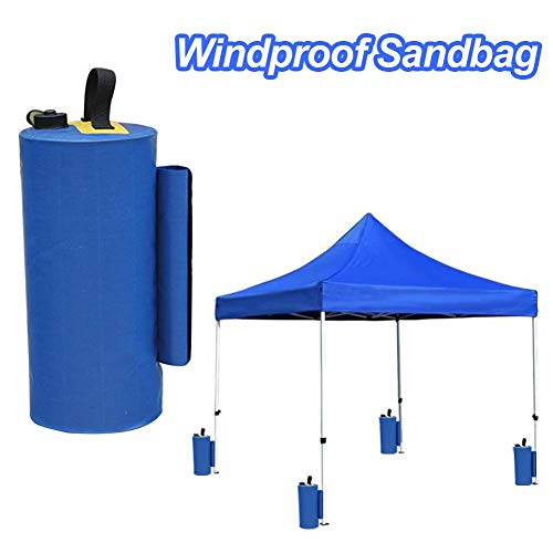 Beaviety All Seasons Gazebos Weights, 1 Pack de Bolsas de Pesas de Grado Industrial, Carpa de Fiesta al Aire Libre Pesas para piernas para Pop Up Gazebo, Canopy, Carpa