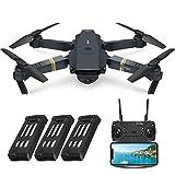 Drone avec caméra EACHINE-E58 720P 2.0MP HD FPV WIFI télécommandé(Forfait de 3 batteries)
