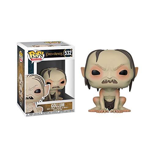 Xqwo Der Herr der Ringe Pop Figur!Gollum Exquisite Sammler Vinyl Figur von Movies Serie