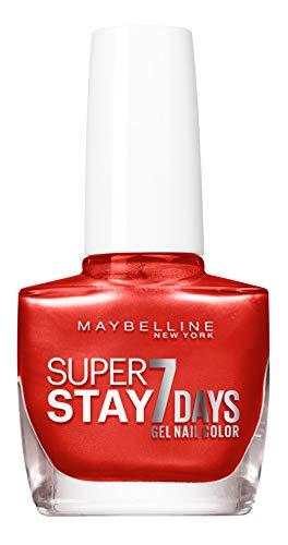 Maybelline New York Super Stay 7 Days Nagellack Spicy Nectar 918 3er Pack(3 x 10 milliliters)