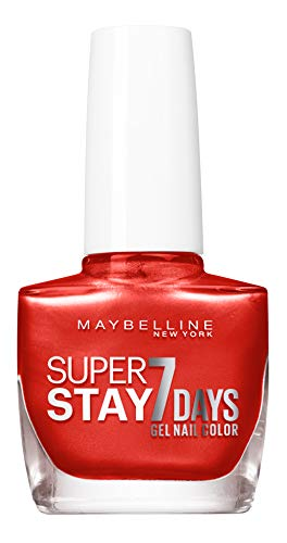 Maybelline New York Super Stay 7 dagen nagellak Spicy Nectar 918 3-pack (3 x 10 milliliters)