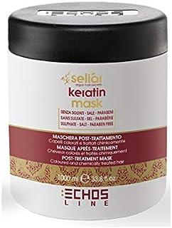 Echosline Seliàr Keratin Mask – Maschera Post Trattamento Capelli Colorati - 1000 ml