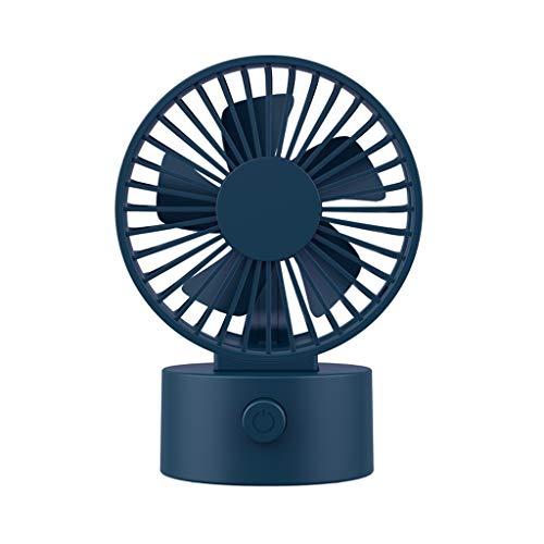 Mini fan ventilador de mano Escritorio USB Ventilador, ventilador de enfriamiento portátil con 3 velocidades, ventilador eléctrico personal tranquilo Personal Asiento de coche portátil para bebé para