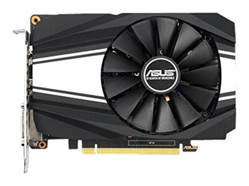 ASUS Phoenix Nvidia GeForce GTX 1660 Super 6GB Gaming Grafikkarte (GDDR5 Speicher, PCIe 3.0, 1x HDMI 2.0b, 1x DVI, 1x DisplayPort 1.4, PH-GTX1660S-6G)