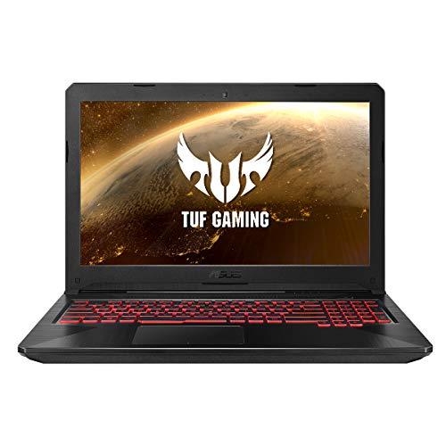 "ASUS TUF Gaming FX504GM-EN479 Ordenador portatil 15.6"" FullHD (Intel Core i7-8750H, 8GB RAM, 256GB SSD, GTX1060-6GB, Sin sistema operativo) Negro - Teclado QWERTY Español"