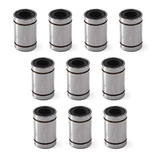 Rodamiento lineal de bolas de 6 x 12 x 19 mm para impresora 3D, LM8UU(8*15*24), 10