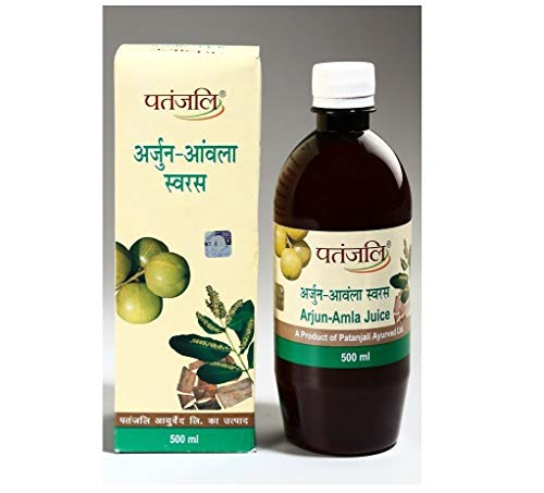 Patanjali Ayurveda Arjun-Amla Juice 500 ml (Pack of 2)