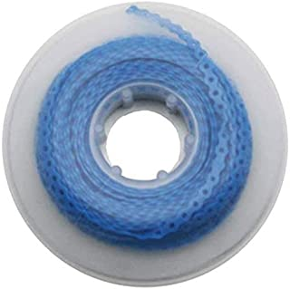 1 Piece Orthodontic Ultra Power Short Chain Dental Elastic Made in USA Blue