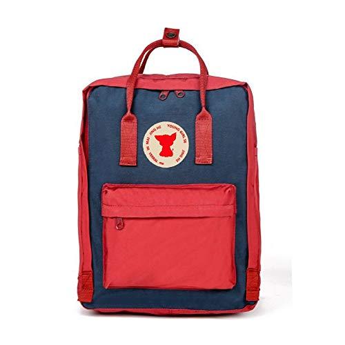 SGZBY Rucksack Im Freien Wasserdichte Rucksack Fox Bag Casual Studentin Schultasche Rucksack