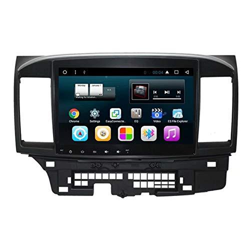 TOPNAVI 10.1Inch Voiture multimédia pour Mitsubishi Lancer EX 2010 2011 2012 2013 2014 2015 2016 Android 7.1 Auto Navigation GPS Radio Voiture stéréo avec WiFi 3G RDS