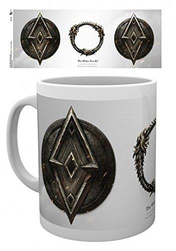 1art1 The Elder Scrolls Online - Imperial Foto-Tasse Kaffeetasse 9 x 8 cm