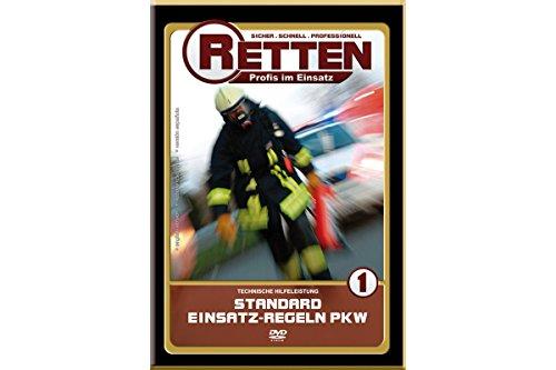 RETTEN Technische-Hilfeleistung Teil 1: Standard-Einsatz-Regeln, Ausbildungs-DVD für die Feuerwehr