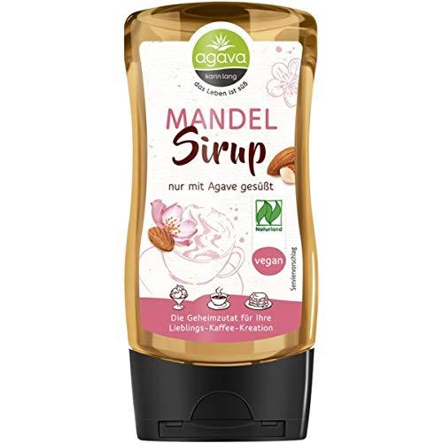 Agava Mandelsirup (350 g) - Bio