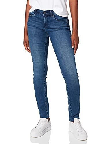 Calvin Klein Jeans Mid Rise Skinny - Wonder Mid, Donna, Blu (Wonder Mid), W25/L32 (Taglia Produttore: 3225)