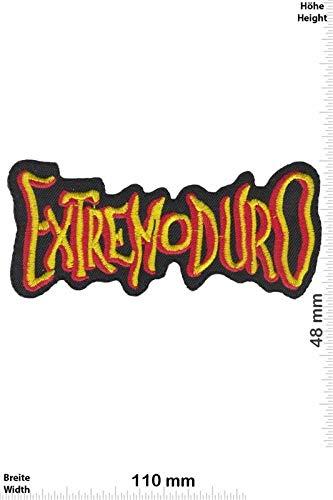 Extremoduro Hardrockband parche patch bordado con logotipo para planchar de hierro en apliques