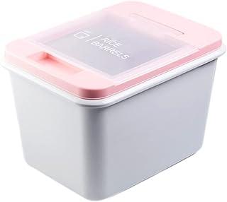 Boîte De Rangement De Distributeur De Céréales 10KG, Organisateur De Conteneur De Grain De Riz Pour Nourriture De Cuisine,...
