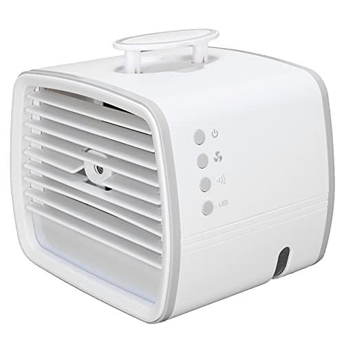 COHU Raffreddatore d'Aria Personale, Ventola del condizionatore d'Aria Ultra silenziosa più Potente con Cavo USB-C per L'Ufficio per la casa per la Camera da Letto