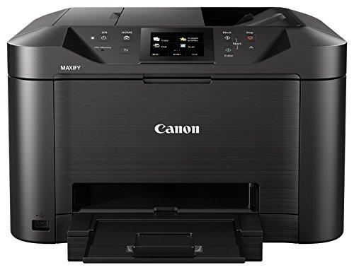 Canon Maxify mb5150Multifunktionsgerät Tintenstrahldrucker, 24ipm in weiß und schwarz, 15,5ipm in Farbe, 600x 1200DPI, schwarz/anthrazit