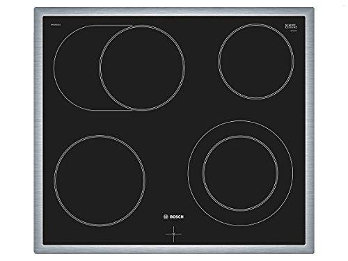 Bosch Serie 4 NKN645GA1E integriertes Kochfeld aus Keramik und Glas, Schwarz,1200 W, rund