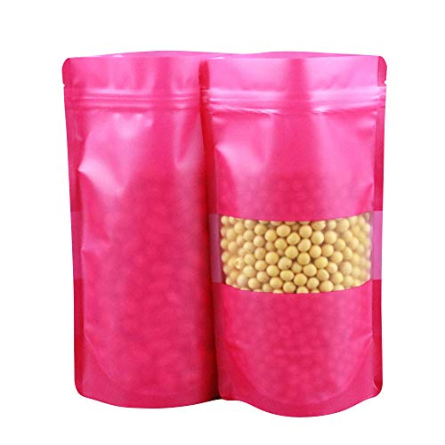 Check Out This Stand Up Food Bags Zip Lock Reusable Sealing Food Pouches Snack Packing Bag with Fros...