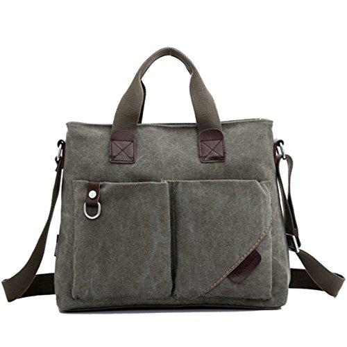 pacchetto M/Sacchetto di affari di tela/borsa a tracolla/borsa da uomo/ventiquattrore/Messenger Bag/pacchetto tempo libero/zaino-A
