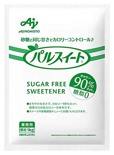 味の素 パルスイート 袋 1kg【砂糖約4�s分の甘さ】