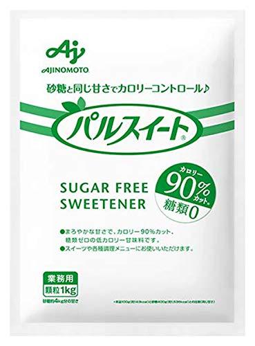 味の素 パルスイート 袋 1kg【砂糖約4㎏分の甘さ】