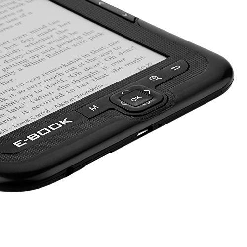 Neufday Papel electrónico portátil Tinta electrónica Lector electrónico de 6 Pulgadas Lector de Libros electrónicos(Gris 4G) miniatura