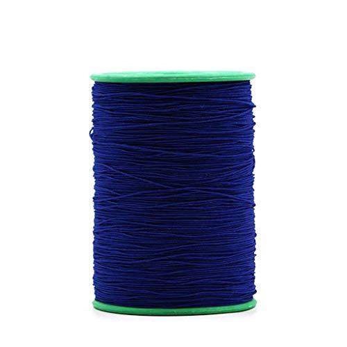 0.5mm elastisch touw elastisch koord, 500m, touw DIY sieraden maken draad bungee koord op grote schaal gebruikt voor tenten handtassen bagage-Marine