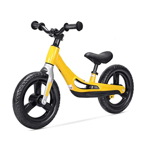 High end Tricycle Trike Children's Balance Car, Magnesium Alloy Outdoor Children's Sports Bike - Children's Training Bike Free Of Inflatable 2-7 Years Old, 2 Colors
