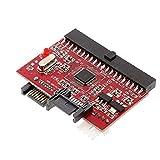 2 en 1 SATA To IDE Duro o adaptador de accionamiento óptico Convertidor IDE al adaptador de interfaz de unidad SATA con suministros electrónicos de Tienda de cables