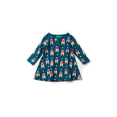 Little Green Radicals Midnight Owl Playaway Dress.Blue (6-7...