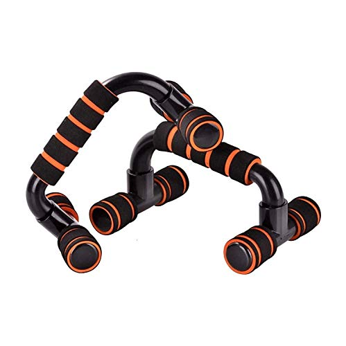 HUZB® Push Up Bars Stand with Foam Grip Handle for Chest...