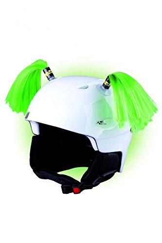 Crazy Ears helm-accessoires. Ski-oren geschikt voor skihelm motorhelm fietshelm en nog veel meer. Helm-decoratie voor kinderen en volwassenen.