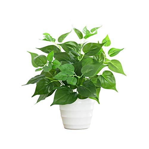 Bonsai Artificial Green Dill Potted Árbol Artificial Jardín al aire libre Decoración de Oficina Decoración Bonsai Plástico Arboles Artificiales Flores y plantas Árbol bonsái artificial ( Size : C )