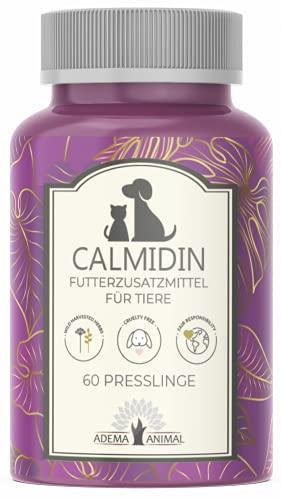 Adema Animal - Calmidin Nahrungsergänzungsmittel zur Beruhigung für Tiere - Hund und Katze 60 Presslinge Inhalt