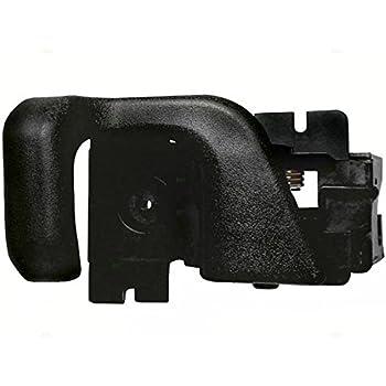 Pair Set Inside Inner Front Chrome Door Handles Replacement for Ford Pickup Truck Bronco EOTZ1022601B EOTZ1022600B
