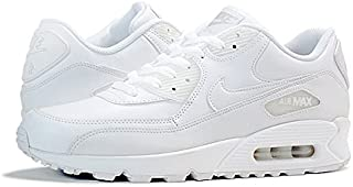 [ナイキ] AIR MAX 90 LEATHER WHITE/WHITE [並行輸入品]