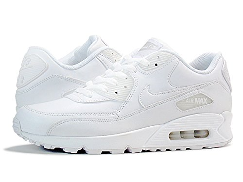 [ナイキ] AIR MAX 90 LEATHER WHITE [並行輸入品]
