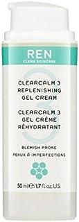 3補給ゲルクリーム x4 - REN Clearcalm 3 Replenishing Gel Cream (Pack of 4) [並行輸入品]
